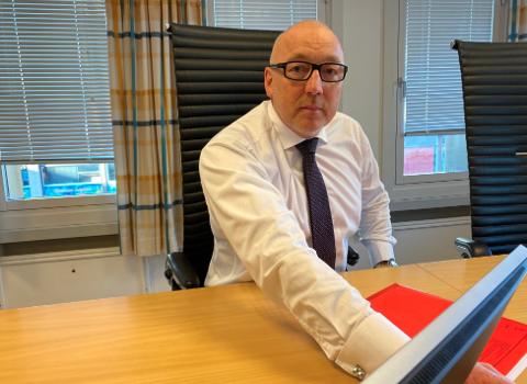 TIL HARSTAD: Kåre Skognes ønsker å ha sitt kontorsted, samt å bosette seg i Harstad.