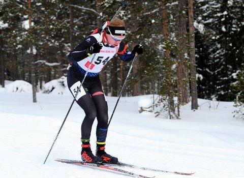 Martin Femsteinevik gjorde ein flott figur då han blei nummer tre i laurdagens norgescuprenn i skiskyting.