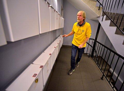 Slik mange er vant til å se ham, Jørn Rasmussen i Lokalposten.