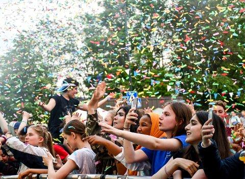 Full fest for fansen: Årets Lierdager samlet både store og små i Lierbyen. Blant annet var det topp stemning under konserten med Hkeem. Det var også musikk fra flere scener enn før, og festivalområdet var det største noen sinne.