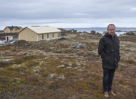 Viktig tilskudd med seks hytter: Frode Hov er daglig leder i Lofoten utvikling AS som blant annet står bak golfbanen Lofoten Links og eiendomsutvikling gjennom Lofoten hytteutvikling AS.Foto:Øystein Ingebrigtsen