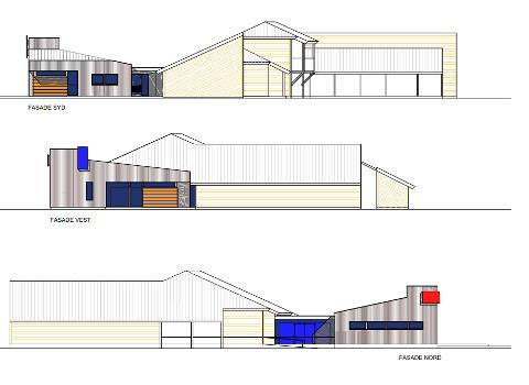 Bygges ut: Slik ser Knut Gjernes arkitektkontor for seg utbyggingen av Gravdal barnehage.