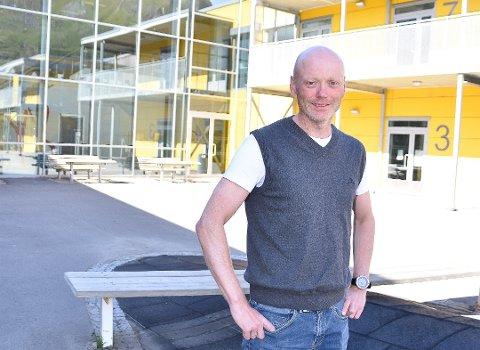 Rektor ved Svolvær skole, Ronnie Maas Pedersen.