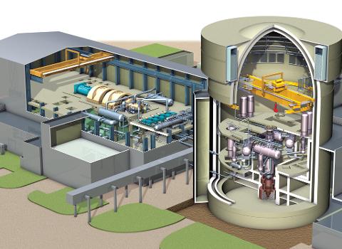 Reaktoren bygges med russisk teknologi.