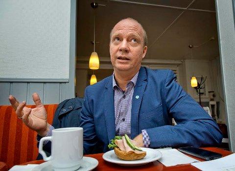 – INGEN BACK UP: Ketil Kjenseth retter kritikk mot Helse Sør-Øst (arkiv)