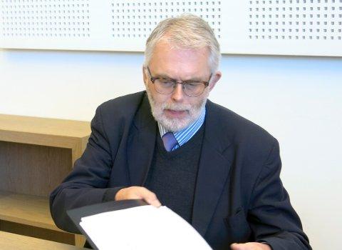 FORSVARER: Advokat Ove Herman Frang, her avbildet i retten i 2016.
