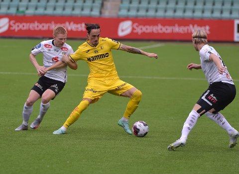 BITTERT: Andreas Helmersen og Raufoss spilte en god bortekamp, men måtte reise poengløse hjem fra Sogndal.