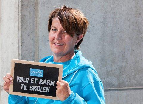 TRENGER FLERE: Adelheid Brigitte Sæther, Fylkesaksjonsleder Akershus, ønsker seg flere bøssebærere i Follo.