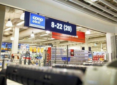 Coop Obs på Vinterbro betaler ut klart mest ubytte.