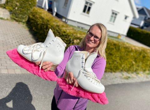 ENDELIG: Siv Kjelsås Kvinge og resten av gjengen i Follo Kunstløpklubb kan endelig starte opp med treninger i Ski ishall.