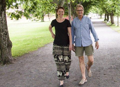 KJENT: Cecilie Schilling og Morten Bjørgan har gjort mange flotte konserter sammen. Det vil de også gjøre denne sommeren i Stavern.