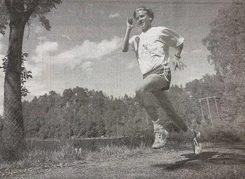 Kjempetalent: 15-årige Lars Erik Fareid kan trygt betegnes som et kjempetalent som mellomdistanseløper. Hans 2.07,92 i Sørlekene er landets nest beste 800-metertid i aldersklassen.