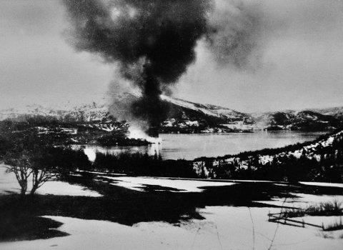 To datoer har bokstavelig talt brent seg inn hos folk på Hemnesberget. Fra 10. til 14. mai ble til sammen ikke langt unna 150 bygninger - bolighus, forretninger og brygger - flammenes rov.