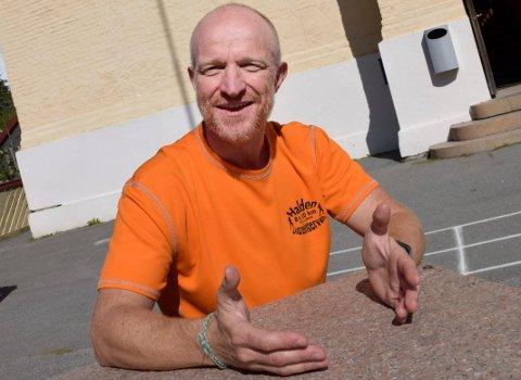 SENTERLEDER: Stig Andy Kvalheim blir ny senterleder på Sats.