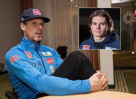 DILEMMA: Lørdag skal Alexander Stöckl ta ut den norske OL-troppen. Fredag meldte 19 år gamle Marius Lindvik seg på alvor med i kampen om en plass på laget.