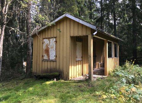 FIKK MEDHOLD: Saksøker fikk rettens medhold i at han har eiendomsrett til denne enkle hytta.