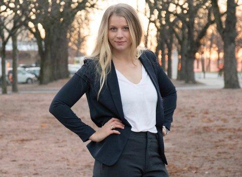 KRF-TOPP: Ida Lindtveit Røse håper KrF igjen skal bli representert på Akershusbenken i Stortinget.