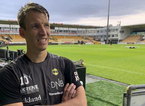 Misfornøyd: Thomas Lehne Olsen mener LSK ble altfor defensive i toppkampen