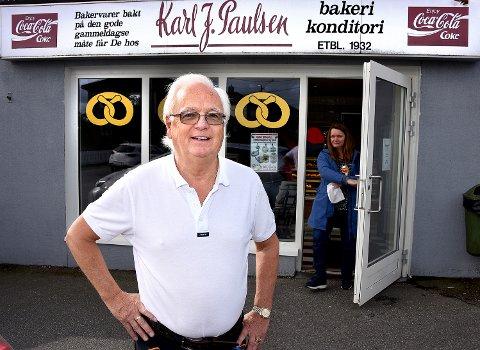 PÅ EIERSIDEN: Johnny Lunde har siden i 2015 vært på eiersiden i  bakeriet på Lande.