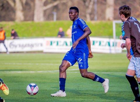 Starter igjen: Usman Muhammed starter i sin tredje cupkamp på rad. Foto: Thomas Andersen
