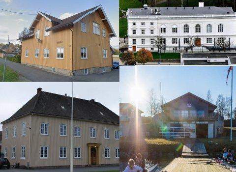 Alfheim i Skjeberg, Bygdehallen i Varteig, Festiviteten i sentrum og roklubben i Tune er eksempler på lokaler som er definert som offentlige.