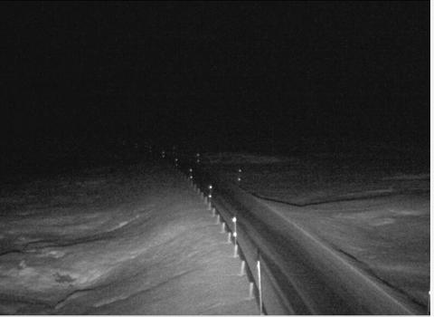 Vikafjellet v/Hestavollen klokka 06.05(Foto webkamera Statens Vegvesen)