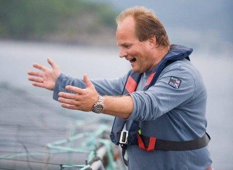 TIL TOPPS: Mikals Laks gikk i helgen til topps igjen med røykelaksen sin. Denne gang i Det norske måltid.