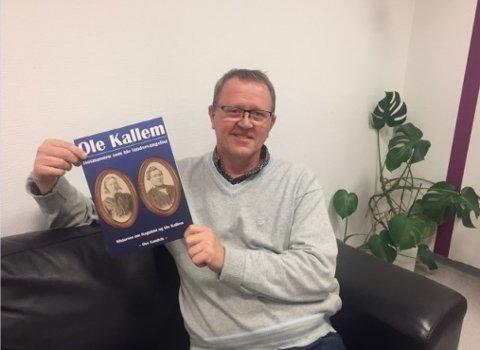 FORFATTARDEBUT: Ove Sandvik har skrive eit hefte om Ole Kallem, som i likskap med han sjølv, var predikant.