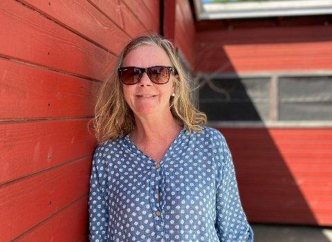 May Britt Aasen fikk fagutdanningen gjennom  kommuneforbundet i og stortrives.