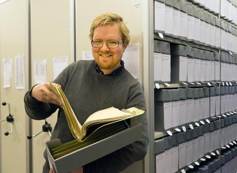 SAMLER INN: Fagleder for arkiv i NIA - Dan André F. Velle, håper det vil strømme inn med betraktninger om korona-situasjonen fra innbyggerne i Øst-Telemark.