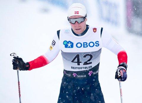 Det vakte oppsikt at Petter Northug ble danket ut av rindalingen Gjermund Løfald (bildet).
