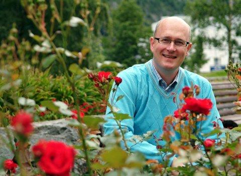 TOPP TI: Sunndalsordfører Ståle Refstie kan si seg fornøyd med at Sunndal er beste nordmørskommune i Kommune-NM.
