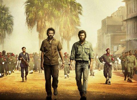 Premieren nærmer seg: «Mordet i Kongo» et basert på historien om Joshua French og Tjostolv Moland som satt fengslet i Kongo fra mai 2009. Foto: Nordisk Film Distribusjon AS.