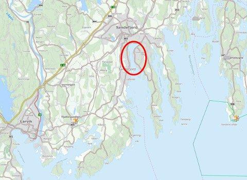 kart sandefjordsfjorden Tønsbergs Blad   Nå blir det renset i gammelt industriavfall kart sandefjordsfjorden