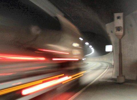 - Det kjøres ofte for fort i Oslofjordtunnelen, sier UP-sjef Stein Olaf Røberg.