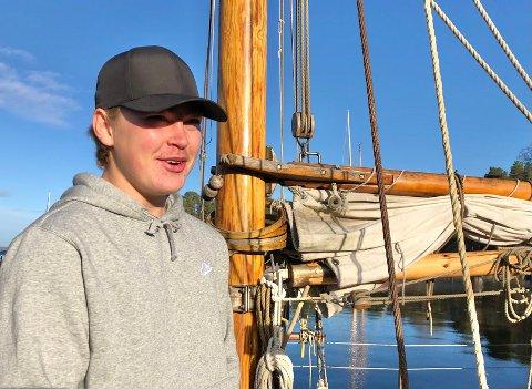 Tok sjansen: Henrik Bjerkelund trivdes ikke spesielt godt i vanlig ungdomsskole. I høst startet han på Soon Sjøskole på Oscarsborg.