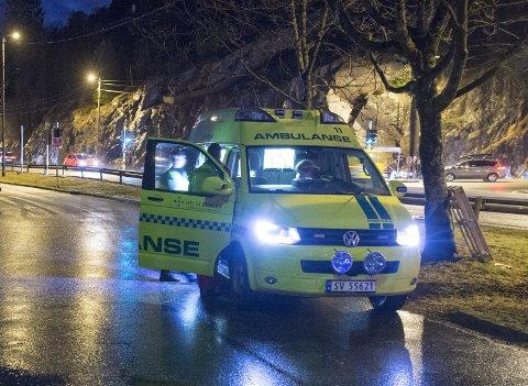 AMK mista oversikta over ambulansane natt til onsdag. (arkivbilde)