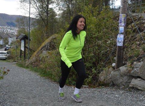 Patricia Flataker mener Løvstakken Opp går feil vei, og gir seg i løpet hun startet. Her er hun i 2016. Foto: Sindre Wiik