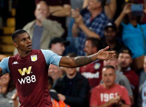 Aston Villa og Wesley herjet med Norwich på bortebane før landslagspausen. Wesley scoret to ganger, og han kunne hatt enda flere.  Vi tror han kan lage trøbbel for Brighton hjemme på Villa Park lørdag.  (AP Photo/Rui Vieira)