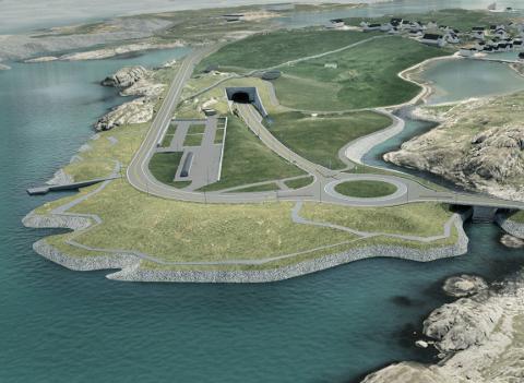 Formannskapet vedtok på mandag detaljreguleringsplanen for E39 Rogfast, veg i dagen, på Kvitsøy.