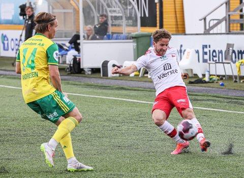 Ludvig Begby fikk tillit fra start mot Ull/Kisa.