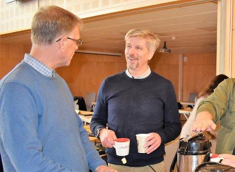 ENSTEMMIG: Svein-Erik Figved (MDG) fikk med seg hele formannskapet på å fortsette kampen for et infosenter om Oslofjorden i Horten.