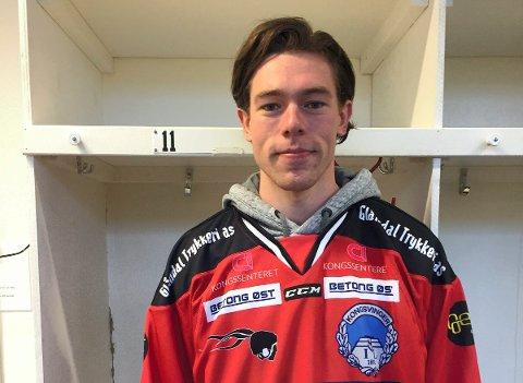 GIR SEG: Fredrik Gran Nilsen prioriterer skole og gir seg i Knights med øyeblikkelig virkning.