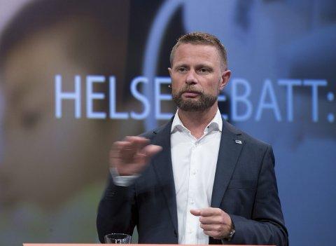 PSYKISK HELSE: Helseminister Bent Høie, hva kan han egentlig om behandling av psykiske lidelser, spør innsenderen.