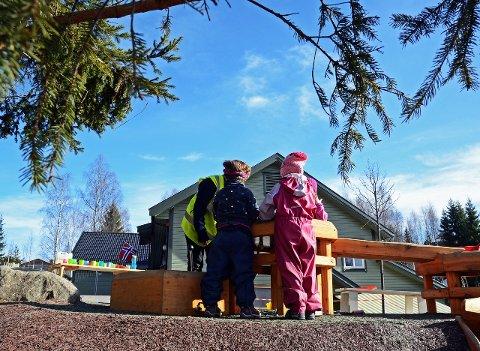 KREATIVE barnehageLØSNINGER: Men kanskje litt i overkant kreativt? Illustrasjonsfoto