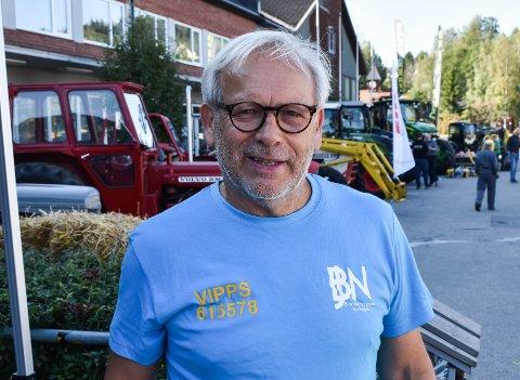 MÅ AVLYSE: Willy Westhagen er glad for at de klarte å gjennomføre Bondens dag siste helgen i august, men Oktoberfest må dessverre avlyses.