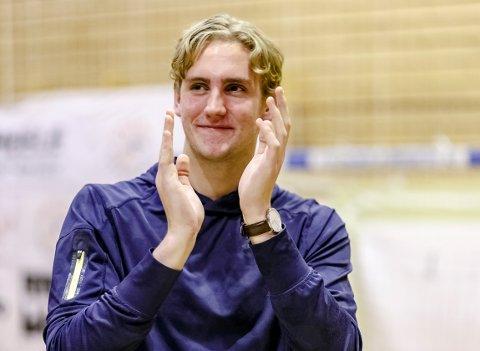 SKADET: Kristian Stranden er skadet, og spilte ikke NM-semifinalen mot Haslum.