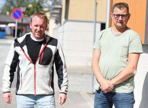 REAGERER: Mads Kjernsholen (tv) og Ulf Hansen er sterkt kritiske til hvordan Tore Jobs ble presset inn som ny leder i Comet Elite.