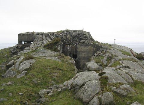 SOLID: Fortet på Bokn var en del av tyskernes kystforsvar. FOTO: PER QVALE/HAUGESUND TURISTFORENING