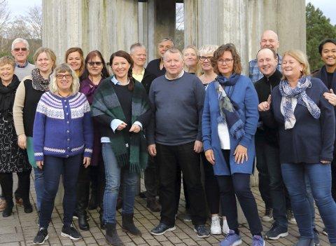 KORKONSERT: Cantus Vitale feirer sine ti år med konsert i Udland kirke.